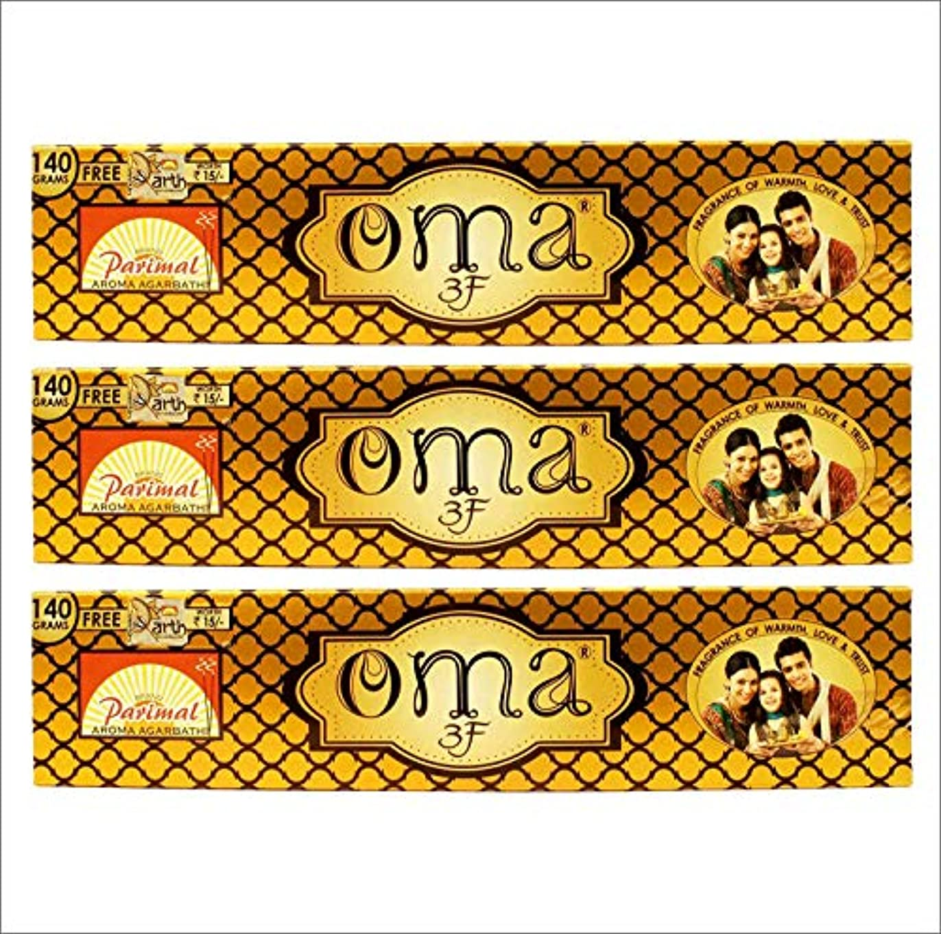 展示会思われる野生Parimal OMA 3F Incense Sticks