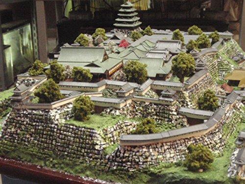 日本100名城 江戸城本丸・大奥  お城 模型 ジオラマ完成品 600mmサイズ (600)