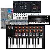 Arturia MiniLab MKII 25-Key USB MIDI Controller (Orange Edition)