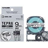 キングジム テープカートリッジ テプラPRO 9mm SB9T マット透明