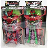 仮面ライダーオーズDXソフビフィギュア7インブリスター 全2種セット(タジャドル&タカジャバ)