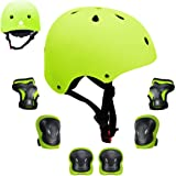 GLAF ヘルメット こども用 自転車 幼児 プロテクターセット ヘルメット3-12歳 頭囲48~57cm 子供用 保護…