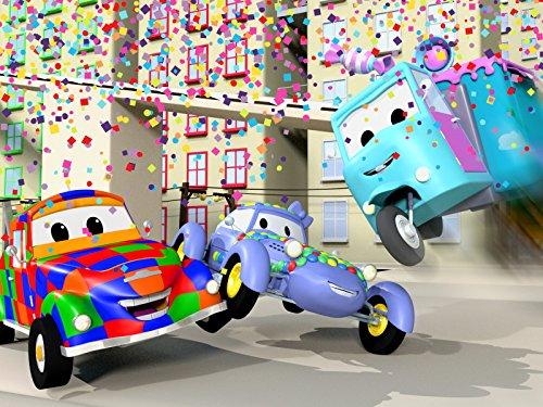 キットカーのケイティーがパレードに! & モンスタートラックのマーリーがベビーたちにレッスン!
