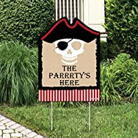 Beware of Pirates - Party Decorations - Pirate Birthday Party Welcome Yard Sign [並行輸入品]