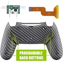 eXtremeRate Dawn Programable Remap Kit for PS4 Controller with Mod Chip & Redesigned Back Shell & 4 Back Buttons -...
