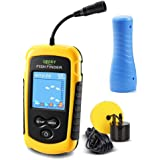 LUCKY Portable Fish Finder for Kayaks Hand held Depth Sounder Fish Detector Depth Finder Fish Finder ice Fishing Boat Fishing