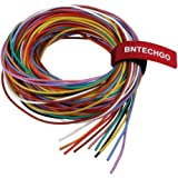 BNTECHGO 20 Gauge Silicone Wire Kit Ultra Flexible 10 Color High Resistant 200 deg C 600V Silicone Rubber Insulation 20 AWG S