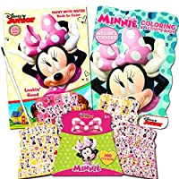 Disney Minnie Mouse Paint With Water Super Set Kids Toddlers -- Mess Free Book with Paint Brush, Colouring Book and Stickers
