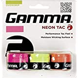 (Pack of 3, Neon Tac) - Gamma Sports Tennis Racquet Neon Overgrip - Dri or Tac