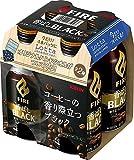 キリン ファイア 香ばしブラック 400gボトル缶(4本パック)×6本