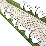 Spooky Ghost - Ghost Shape Lawn Decoration Signs - Outdoor Halloween?Yard Decorations - 10 Piece [並行輸入品]
