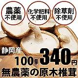 無農薬・無化学肥料の原木生しいたけ 100g
