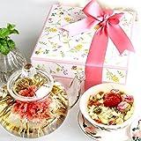 母の日 プレゼント ギフト カーネーション花茶10種と八宝茶 詰合せ 花花セット早割 ランキング