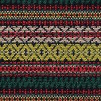 ウール【86880】【柄物】【ウール生地】カラー全4色【一反単位の販売】【ウールジャガード】 11 イエロー/ベージュ