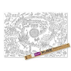 マルアイ 塗り絵 NuRIE UCHU MUC...の関連商品6