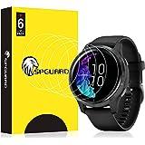 HATALKIN Screen Protector Compatible with Garmin Venu Screen Protectors Smartwatch HD LiQuidSkin Film [6 Pack]