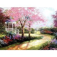 Cocohot 絵画 壁掛け 手書き 油彩 油絵 風景画 絵画抽象芸術作品 油絵具付き プレゼント