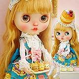 (ドーリア)Dollia ブライス 1/6ドール用 アウトフィット パンケーキ ロリータ ドレスセット 5点セット ワンピース ブラウス パニエ ソックス パンケーキヘッド ネオブライス ドール 人形