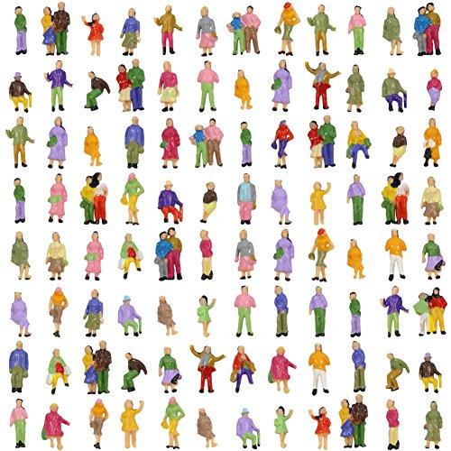 人形 人物 人々 人間 人間フィギュア 塗装人 情景コレクション ザ ・ 鉄道模型・ジオラマ・建築模...