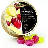 Simpkins Citrus Lemon and Sour Cherry Drops Travel Sweets 200 g, 200 g