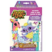 Make it Real 4102 Animal Jam Sketch Book