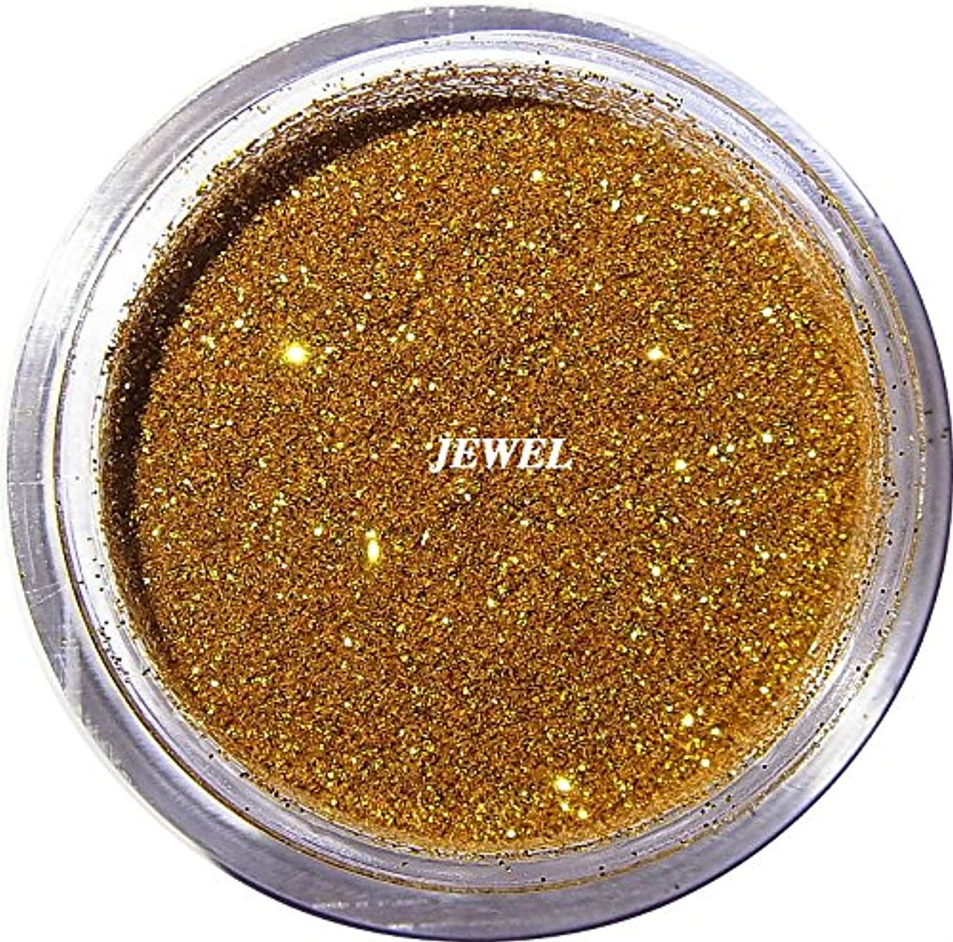 政策暗殺こしょう【jewel】 超微粒子ラメパウダー(金/ゴールド) 256/1サイズ 2g入り レジン&ネイル用 グリッター