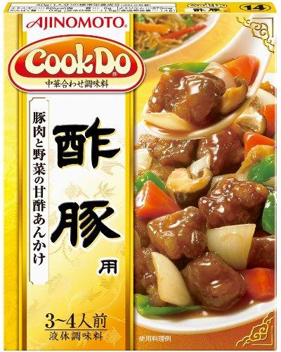 味の素 Cook Do 酢豚用 140g ×10個