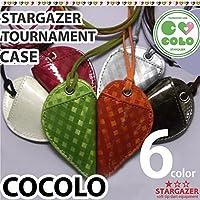 STARGAZER トーナメントケース (ココロ)スターゲイザー首掛けダーツケース Left Heart ダークブラウン