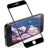 【浮かない】 iphone se2 ガラスフィルム 全面 保護フィルム iphone SE 2020 専用 フィルム iphonese2 保護ガラス (2枚セット) iphonese 第二世代 ガラスフィルム 【ブラック/割れない/発売後開発版/ip