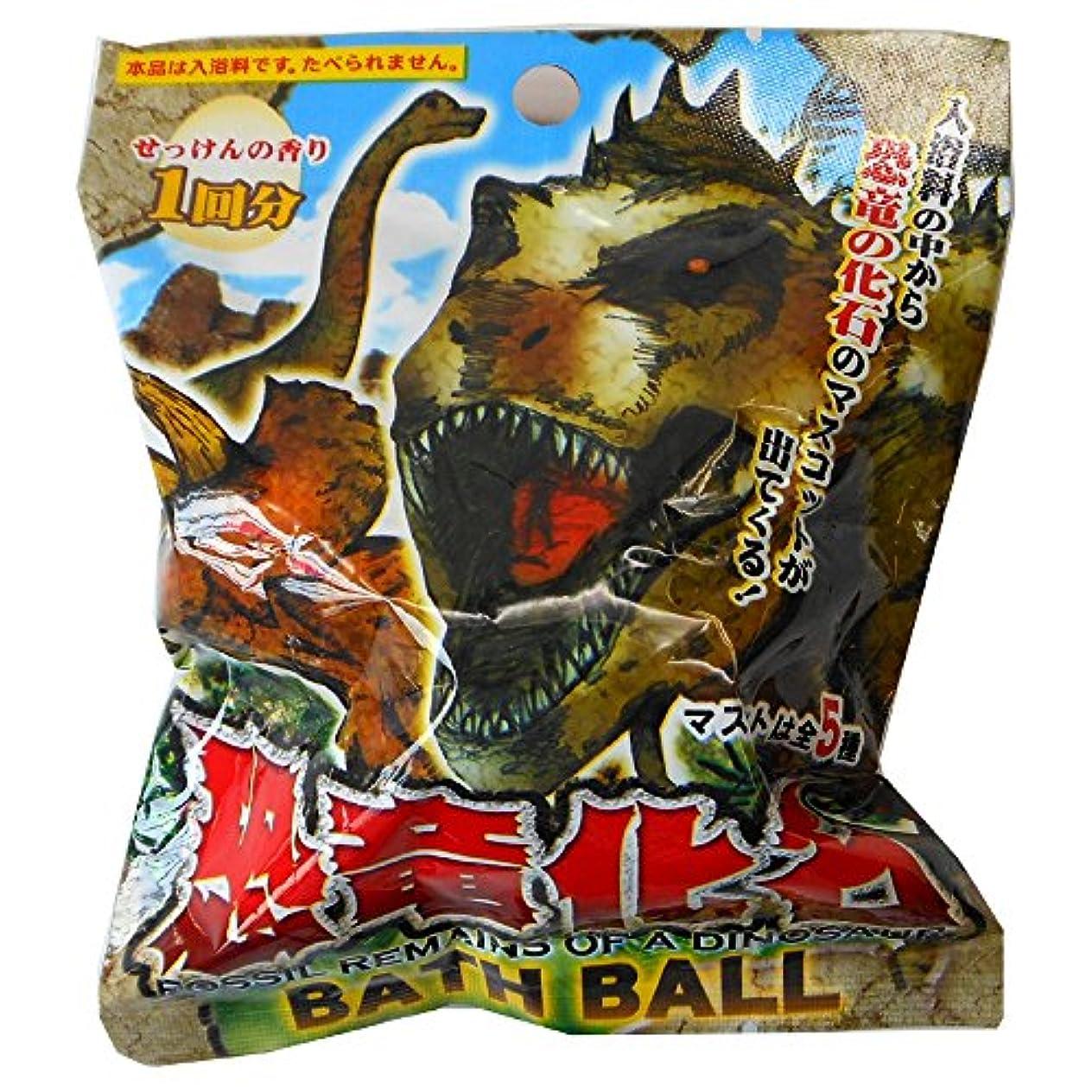 恐竜化石バスボ-ル 2AS24