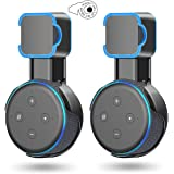 Echo Dot Wall Mount Holder,Outlet Wall Mount Stand for Echo Dot 3rd Gen & Kids Edition Smart Speaker, A Space-Saving Accessor