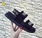サンダル レディース カジュアル おしゃれ スポーツ スリッパ 厚底 韓国風 歩きやすい  アウトドア サンダル 女靴