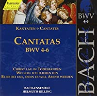 Bach:Comp Works-Cantatas 4
