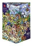 Heye Happytown 1500 Piece Rita Berman Jigsaw Puzzle by Heye