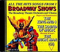 The Hit Songs From 3 Broadway Shows【CD】 [並行輸入品]