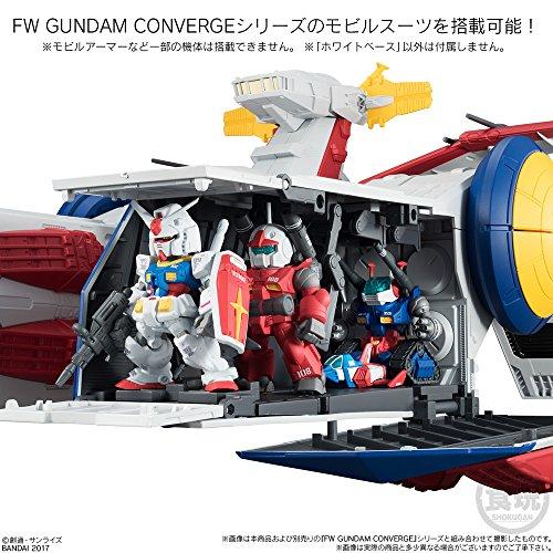 FW GUNDAM CONVERGE WHITE BASE 1個入り 食玩・ガム (機動戦士ガンダム)