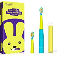 Fairywill 電動歯ブラシ こども用 歯ブラシ 子供用 音波歯ブラシ 携帯型歯ブラシ 持ち運び用 ソニック USB…