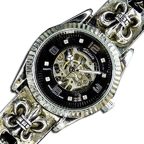 [スワンユニオン] swanunion 腕時計 メンズ レア物 スケルトン自動巻きブレスウォッチct50
