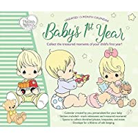 Babys 1st Yr Precious Moments Wall Calendar [並行輸入品]