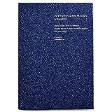 ラ・アプス 手帳 2020年 B6 ウィークリー マットグリッター ネイビー AG-2702 (2019年 11月始まり)