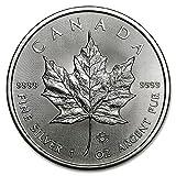 2016年製 メイプル銀貨 1オンス クリアケース入り 31.1g純銀