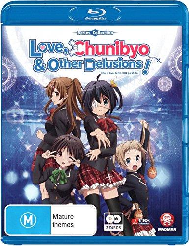 Love, Chunibyo & Other Delusions (Blu-ray) - 中二病でも恋がしたい! (第1期) コンプリート Blu-ray BOX (Region B) (輸入版) (全12話, 325分) アニメ [Blu-ray] [Import] [リージョンB,再生環境をご確認ください,リージョンフリーのブルーレイプレイヤーで再生する必要があります]