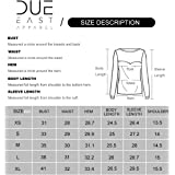Due East Apparel Women's Long Sleeve Quick Dry Exercise Running Yoga Workout Quarter Zip Top