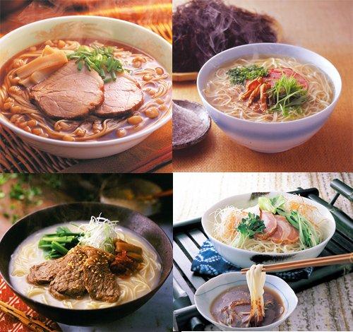 【阿藻珍味】 あもちんの人気麺セット 4食×4箱