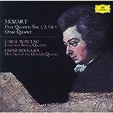 モーツァルト:フルート四重奏曲集、オーボエ四重奏曲
