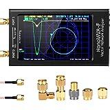 Elikliv 「2020最新進化版」アンテナネットワー クアナライザNanoVNA 10KHz-1.5GHz 4.3インチLCDデジタルディスプレイタッチスクリーン 5000mAhバッテリー内蔵 短波MF HF VHF UHFアナライザ定在波 DI