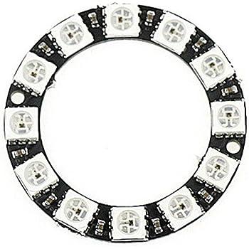 waves WS2812B 12個 5V 円形 リング 時計