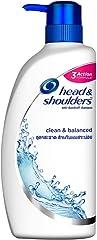 Head & Shoulders Clean and Balanced Anti-Dandruff Shampoo, 720ml