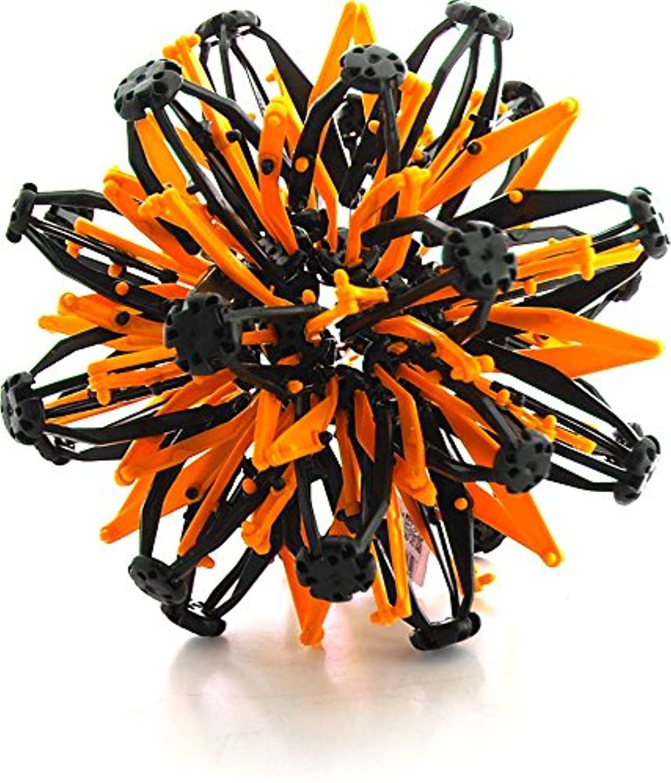 ミニ球おもちゃリングストレッチExpandingボールおもちゃ面白いfor Kids – オレンジブラック