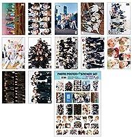 KPOP STAR A3ポスター12枚 + ステッカー1枚セット (A3 Poster + Sticker Set) / BTS TWICE IZONE EXO BLACKPINK TVXQ REDVELVET SHINEE WANNAONE GOT7 DAY6 MONSTAX SEVENTEEN SUPERJUNIOR STRAYKIDS TVXQ (NCT)